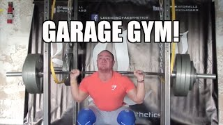 Garage Gym In The Making + A Question For You