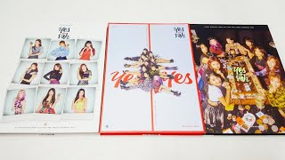 Unboxing TWICE Yes or Yes Album 트와이스 앨범 언박싱/ 후기