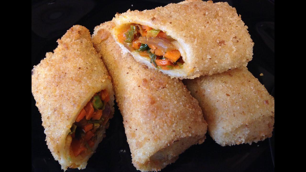 Sri lankan vegetable pancake rolls vegetarianvegan youtube forumfinder Choice Image