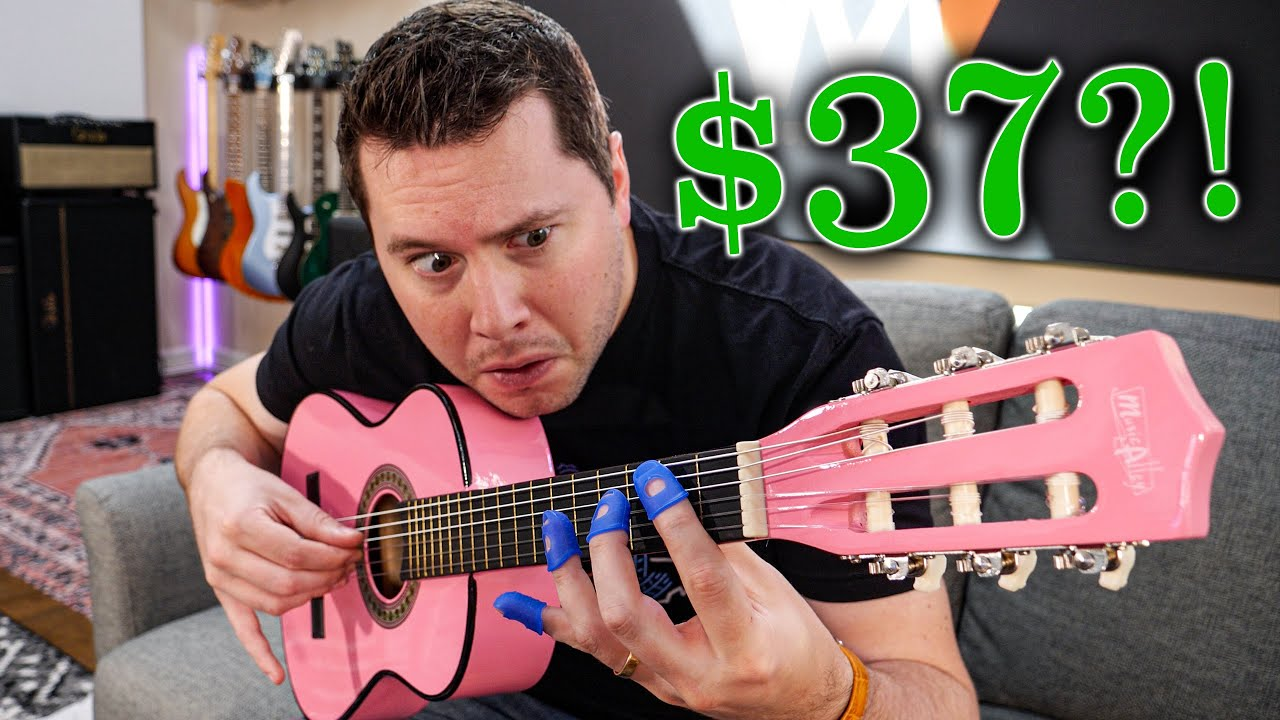 The $37 Guitar on Amazon.com–it's a SCAM