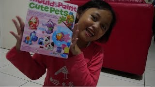 UNBOXING MAINAN MOULD AND PAINT CUTE PETS