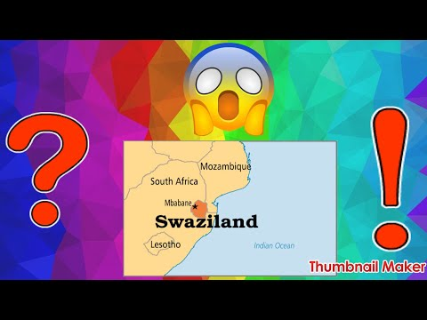 Moving to Swaziland 🇸🇿?!?!