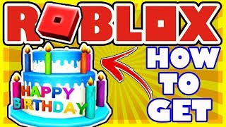 HOW TO GET *FREE* 12TH BIRTHDAY HAT IN ROBLOX! (EXPIRED)