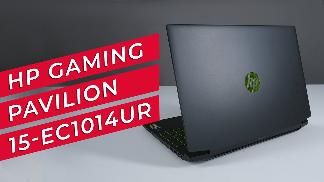 Обзор HP Gaming Pavilion 15-ec1014ur
