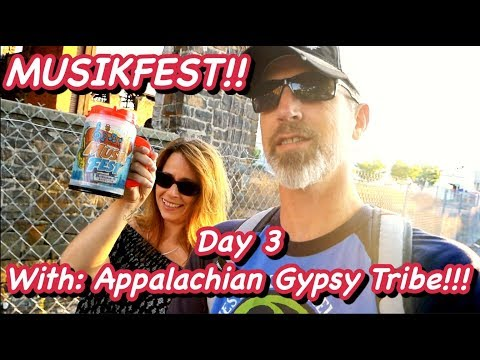 Musikfest 2017 Day 3 with Appalachian Gypsy Tribe!!! | YouMeADV | Vlog | Live Music!!