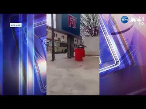Violente tornade à Chemora (Batna)
