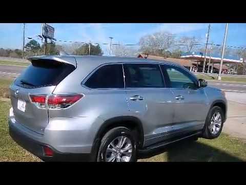 John Oneil Johnson Toyota >> 2015 Toyota Highlander LE Plus V6 in Meridian, MS 39301 - YouTube