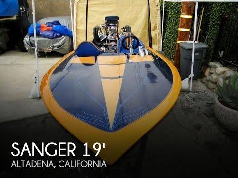 [SOLD] Used 1968 Sanger Flat Bottom Ski Racer in Altadena, California