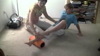 Foam Rolling 4 Tight Calf Muscles