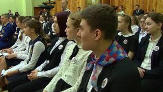 Открытый урок в 69 школе города провел глава региона Николай Любимов