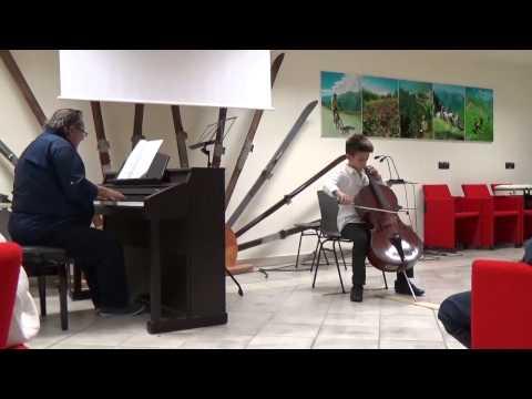 G.Faurè - Elegie -  Paolo Tedesco,cello