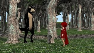 The Little Red Riding Hood 3D Animation Film