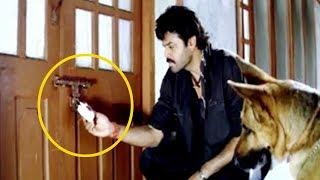 Dog Helps Venkatesh Interesting Scene | Telugu Latest Videos | Silver Screen Movies