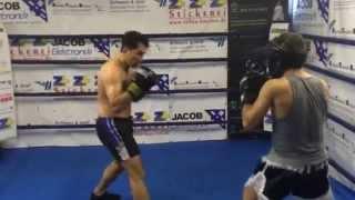 Ünal Ay Vs. Patrick Kadluczka - Boxing / Sparing 25.08.2015 Bulldog Gym / Karlsruhe