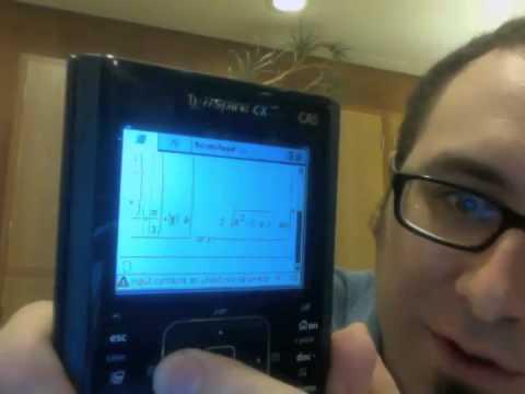 Calculator Showdown! TI-89 Titanium, TI-Nspire CX CAS, PocketCAS