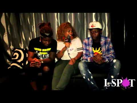 Camille Jay Interviews @Theycallmezuu @flykaison1 @ Faces In The Crowd Showcase 6 30 15