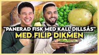 Filip Dikmens Favoriträtt   Panerad Fisk med Kall Dillsås!