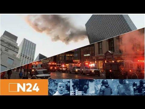 Wolkenkratzerbrand: Feuer im New Yorker Trump Tower ausgebrochen