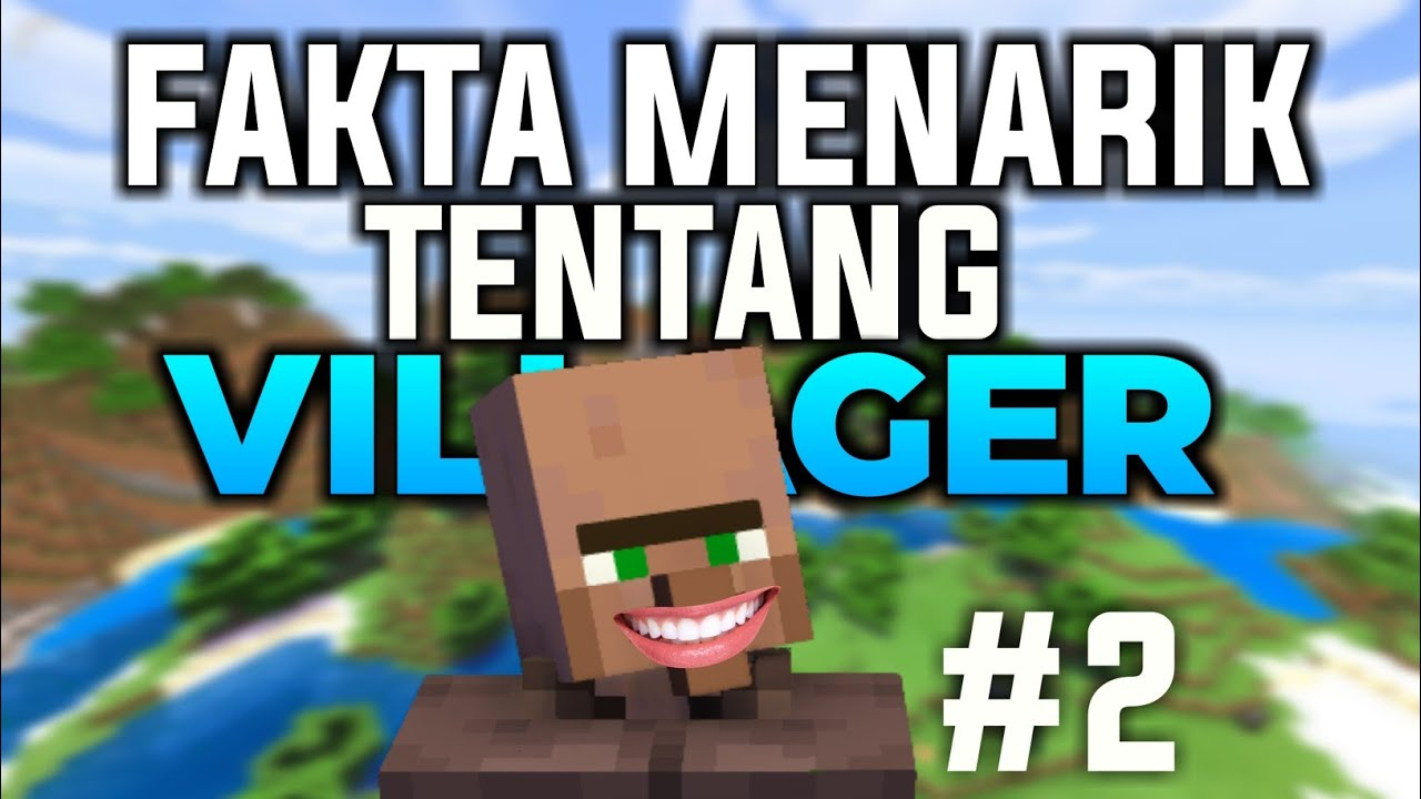 Fakta Menarik Tentang Villager di Minecraft! (Part.2) #shorts