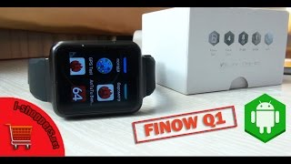 FINOW Q1 - обзор смарт-часов: мини-смартфон на запястье (Android 5.1, MTK6580, 1 ГБ ОЗУ)