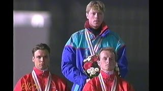 Winter Olympic Games Albertville 1992 - 1 Karlstad, 2 Zandstra, 3 Visser (5 km)