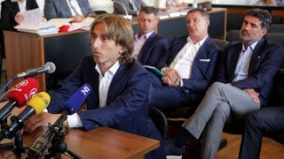 LUKA MODRIC FACES FIVE YEARS IN JAIL