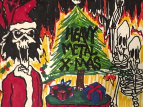 Heavy Metal Christmas.O Christmas Tree Heavy Metal Xmas