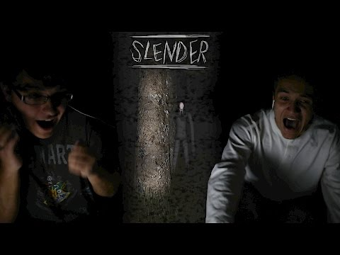 Swedegentina Games: Slender The Eight Pages-We're Lost in the Woods |