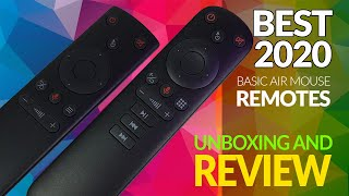 2 Of The Best Air Mouse Remotes - Mid 2020 - Unboxing And Review
