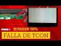 CÓMO REPARAR RAYAS, VERTICALES TELEVISOR LG, PANTALLA BLANCA SIN VIDEO VIDEO 1 DE 3