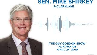 Sen Shirkey appears on The Guy Gordon Show