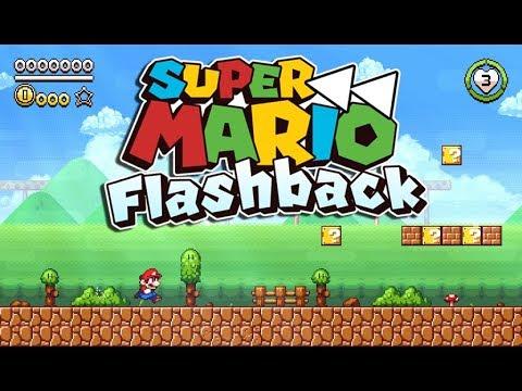 Super Mario Flashback' is a stunning pixel art fan game