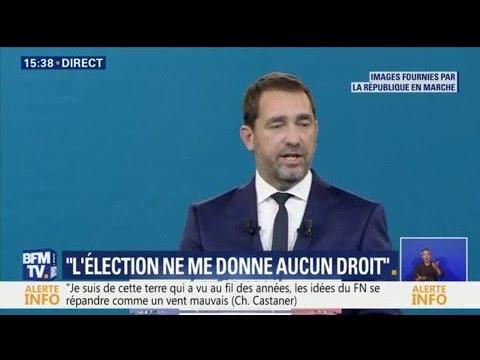 """""""L'élection ne me donne aucun droit, aucun privilège"""", déclare Christophe Castaner"""