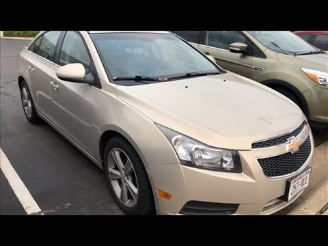 Used 2012 Chevrolet Cruze Wausau, WI #P7215A