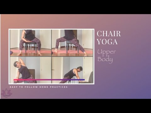 chair yoga upper body sequence  youtube