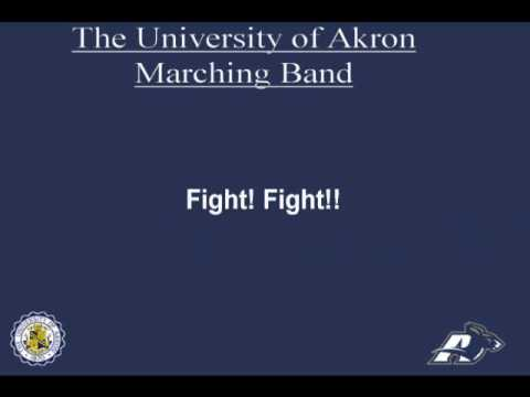 The University of Akron Fight Song Akron Blue & Gold