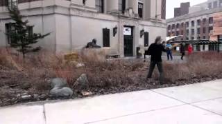 Atlatl Demonstration at Museum of Natural History
