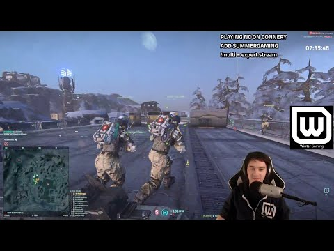 [Planetside 2] How to HOLD a base (lead by twitch.tv/maddoogg)