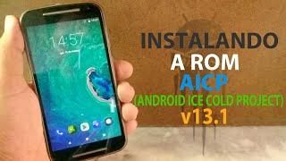 COMO INSTALAR A ROM AICP [ANDROID ICE COLD PROJECT] v13.1 (Android 8.1.0) NO MOTO G2 | MUITO MELHOR