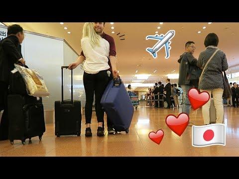 FINALLY! | Meeting babe at Haneda Airport in Japan
