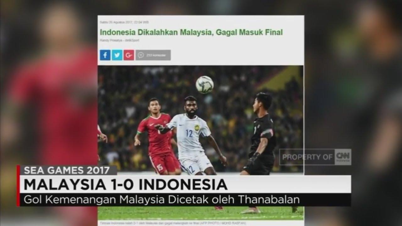 Timnas Indonesia Gagal Ke Final Sea Games 2017 Malaysia  YouTube