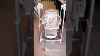 Maribel 3 в 1 обзор стульчика для кормления