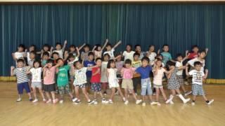 菊川市民が踊ってみた~ 横地保育園ふじ組の園児さんが元気に踊ります.