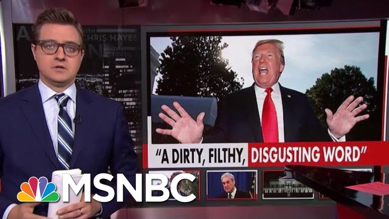 President Donald Trump Freaks Out Over Impeachment Talk | All In | MSNBC