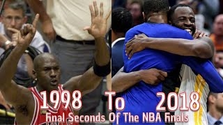 Final Seconds of NBA Finals 1998-2018