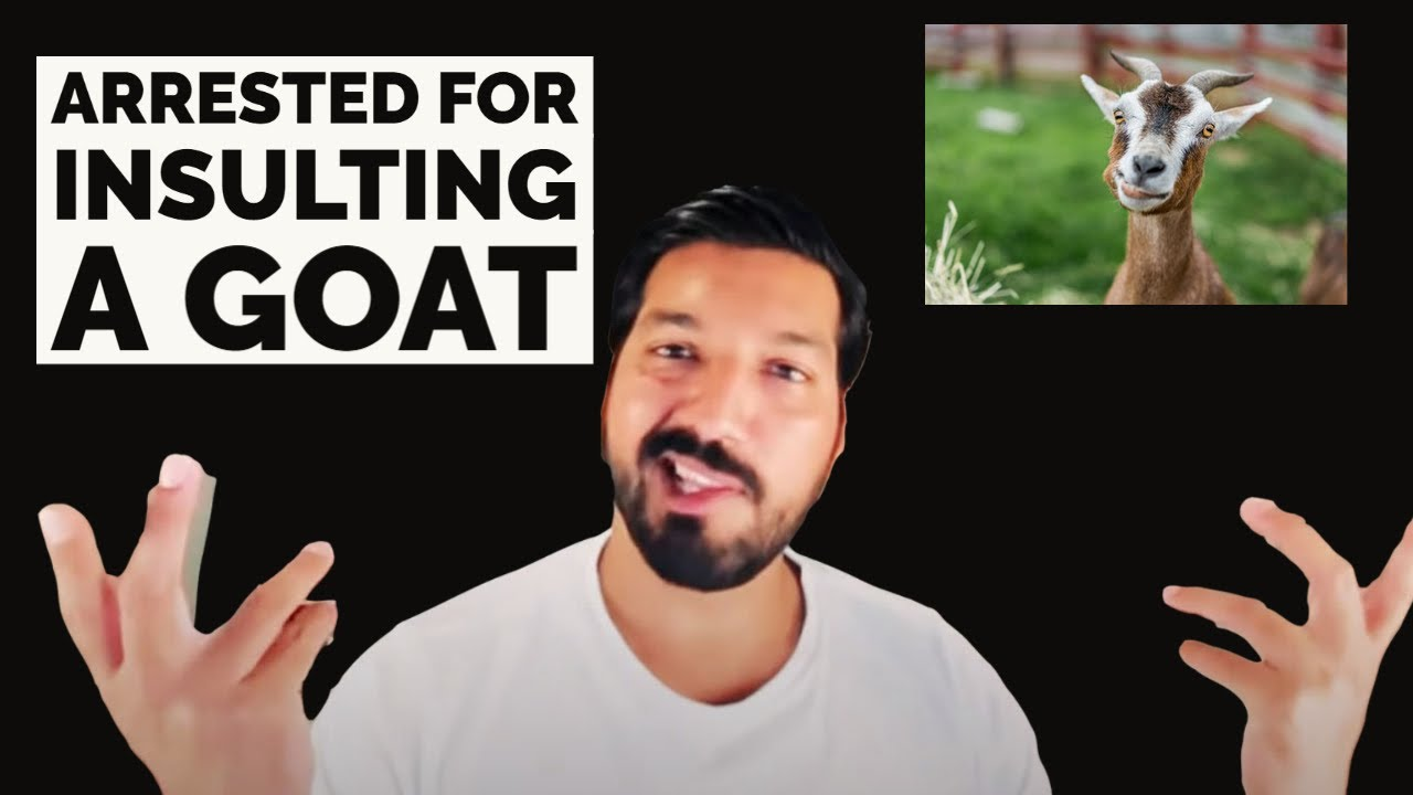 Arrested for Insulting the Goat