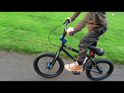 Introducing Mason's New BMX Bike