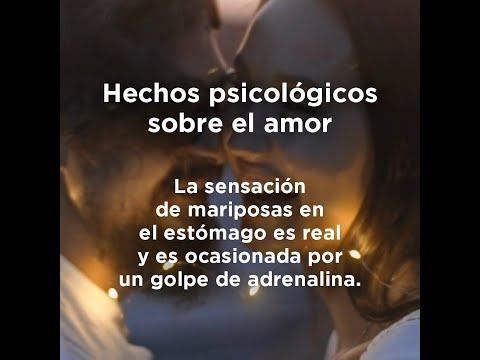 Hechos psicológicos sobre el amor