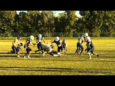 Clearwater Academy 8-Man Football Highlights - Nov 2014