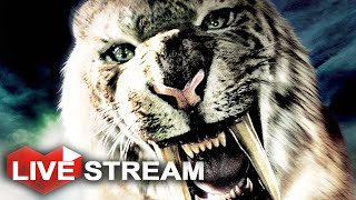 Beast master hunt of the rare Bloodfang Saber Tooth Tiger & Tall El...